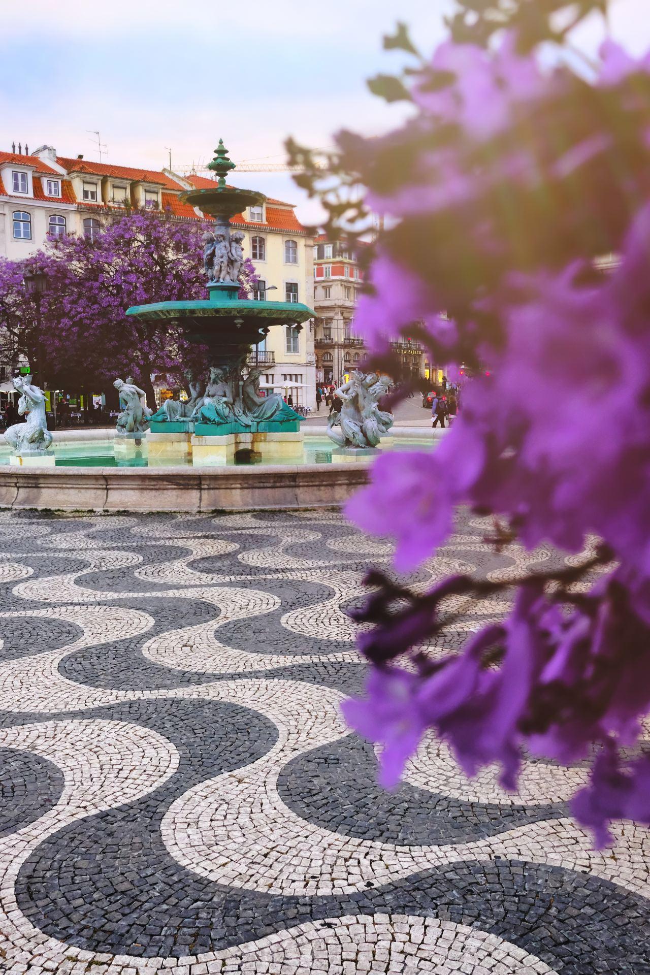 Praça do Rossio Lisbon