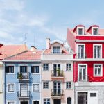 Lisbon Houses on hill
