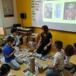Young learners making robots