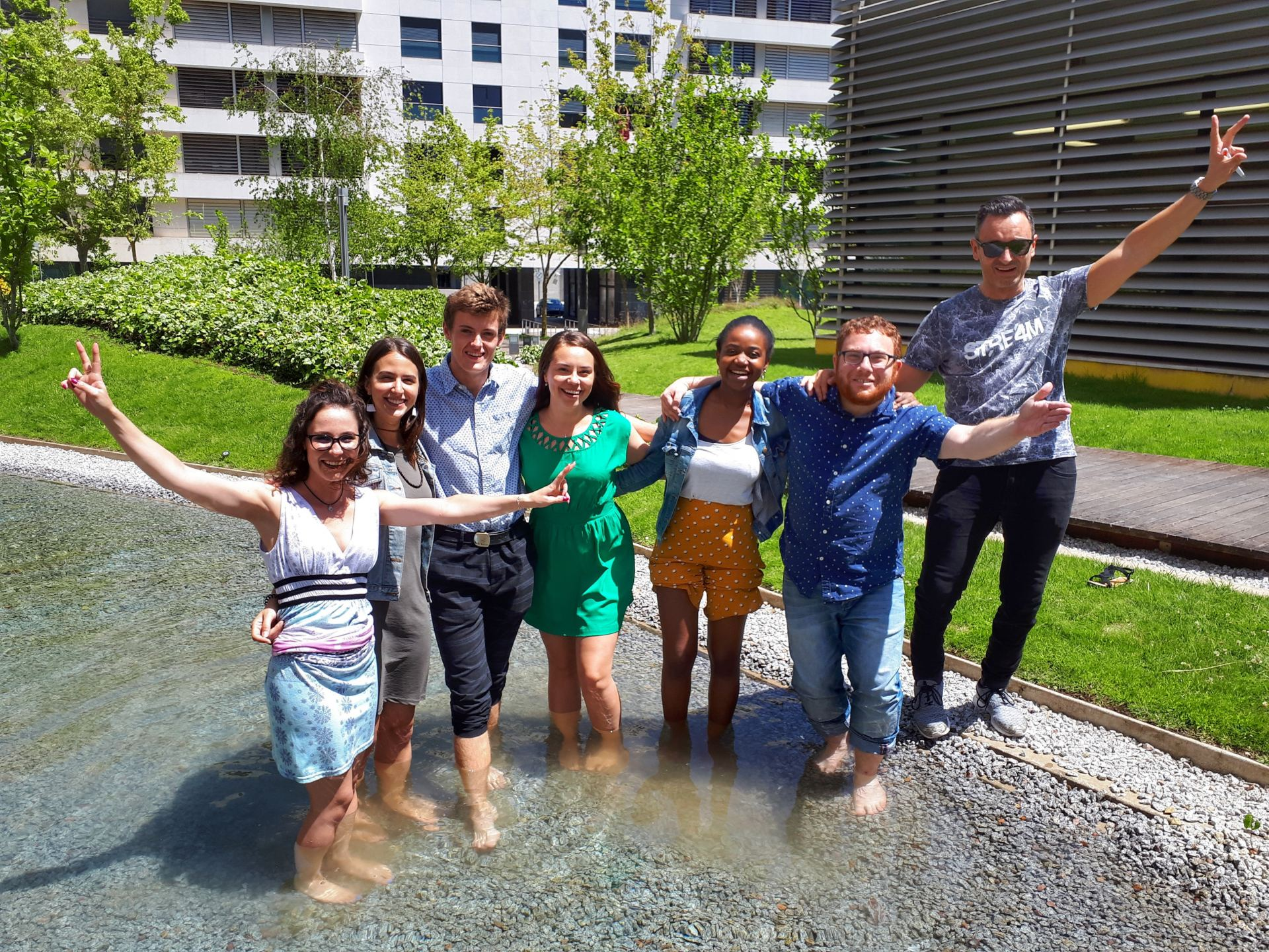 CELTA Students IH Lisbon July 2019